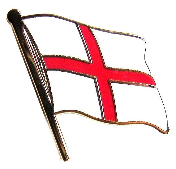 England English St George Flag Lapel Metal Enamel Pin Badge
