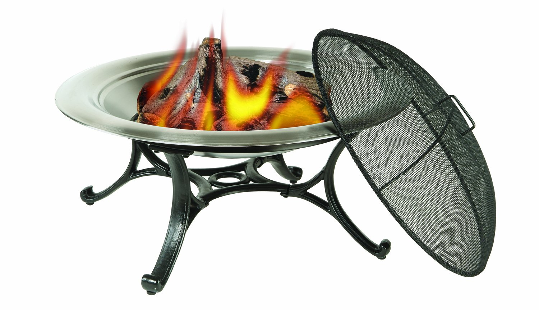 amazon com deckmate steel fire bowl round fire pits garden