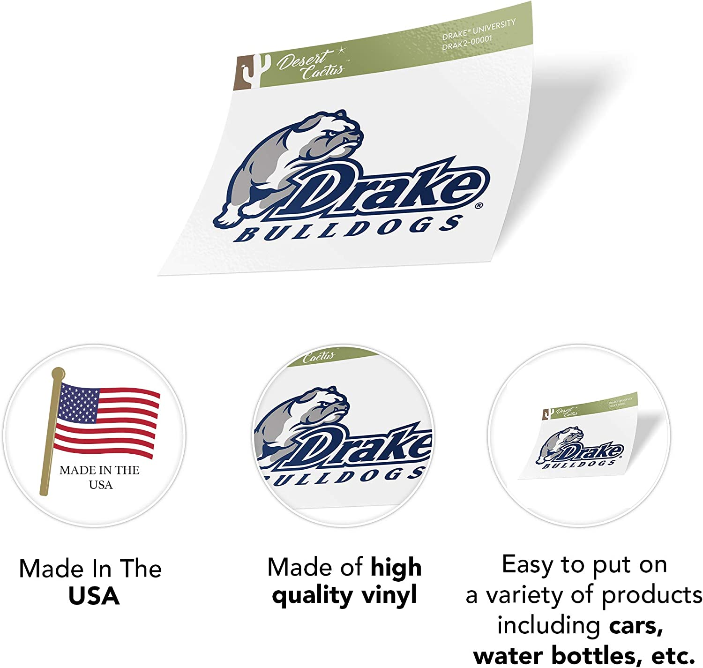 Sticker - 00001 Drake University Bulldogs NCAA Vinyl Decal Laptop Water Bottle Car Scrapbook