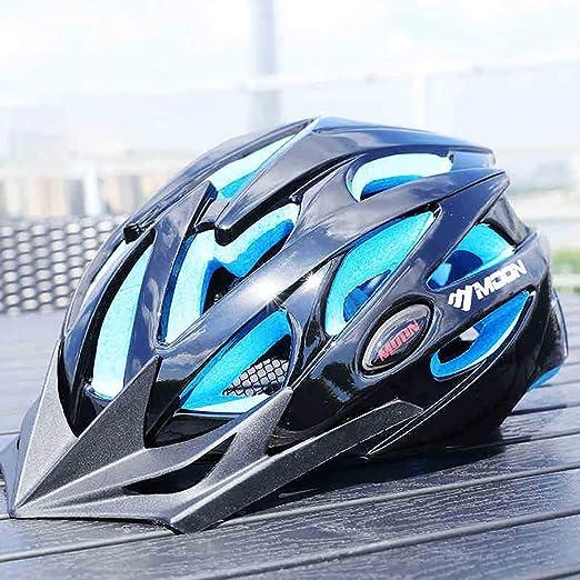 John-L Casco Bicicleta, Casco Bicicleta Montaña con Visera Frontal ...