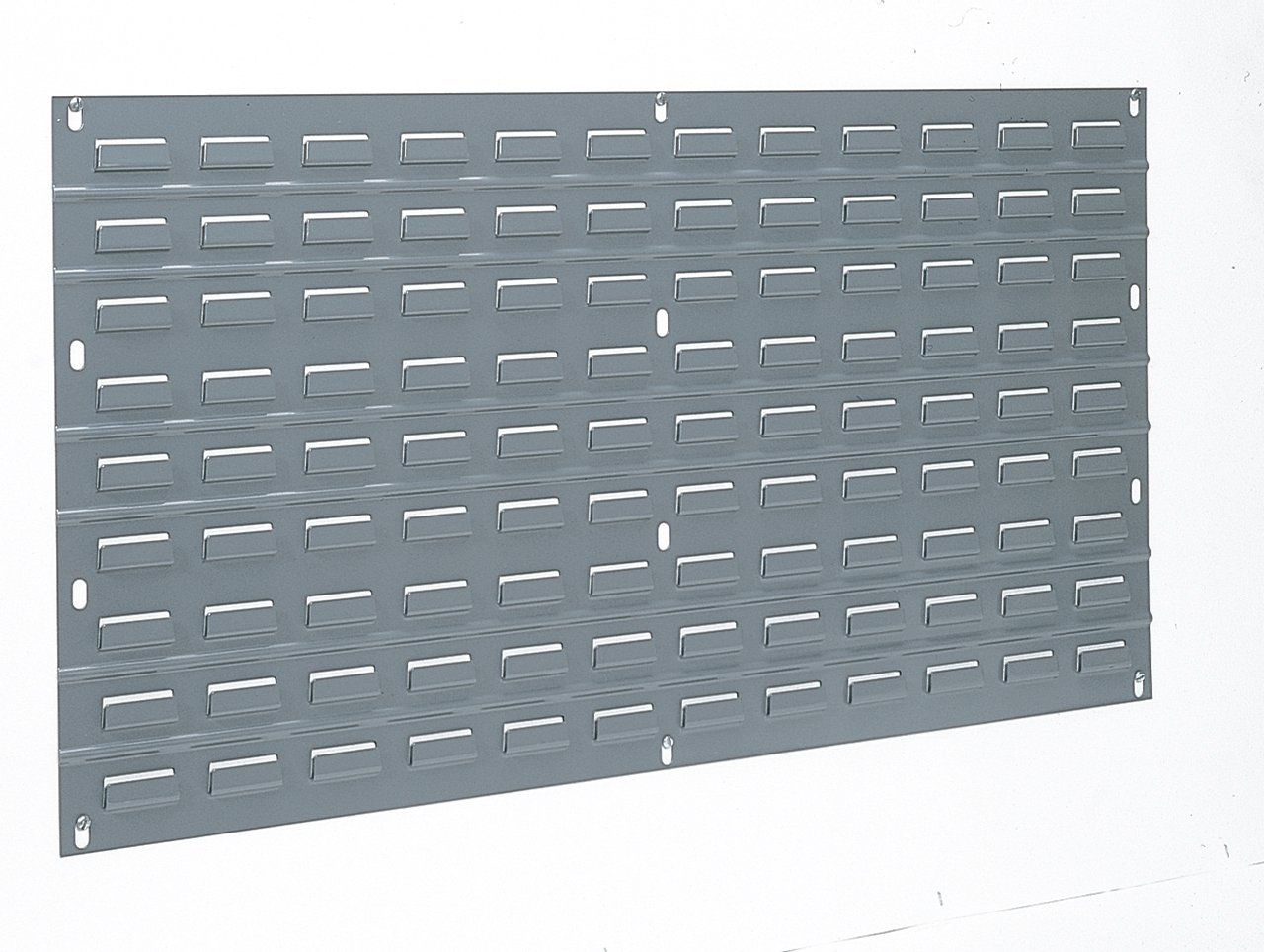 Akro-Mils 30136 Louvered Steel Panel for Mounting AkroBins, 36-Inch W by 19-Inch H, Grey
