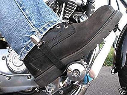 70435a6a Beisite Bike Motorcycle Jeans Pant Leg Clamps Straps Clips Holder Ryder  Stirrups Fully Adjustable Harley Davidson