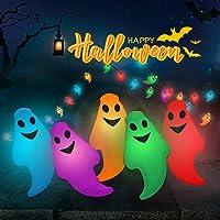 Halloween luces, PTN 6M 40LED luces de Secuencia al Aire libre, Decoraciones Guirnalda de luces, Modos de Relámpago con…
