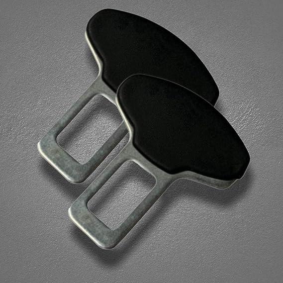 2x Auto Gurtalarm Stopper Alarmstopper Für Autogurt Anti Gurtwarner Stopper Gurtschloss Sperre Anschnaller Adapter Auto