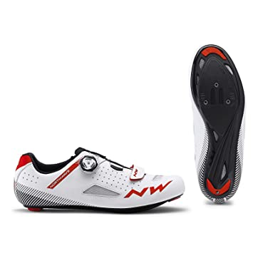 Northwave Zapatillas Carretera Core Plus Blanco/Rojo - Talla: 42: Amazon.es: Deportes y aire libre