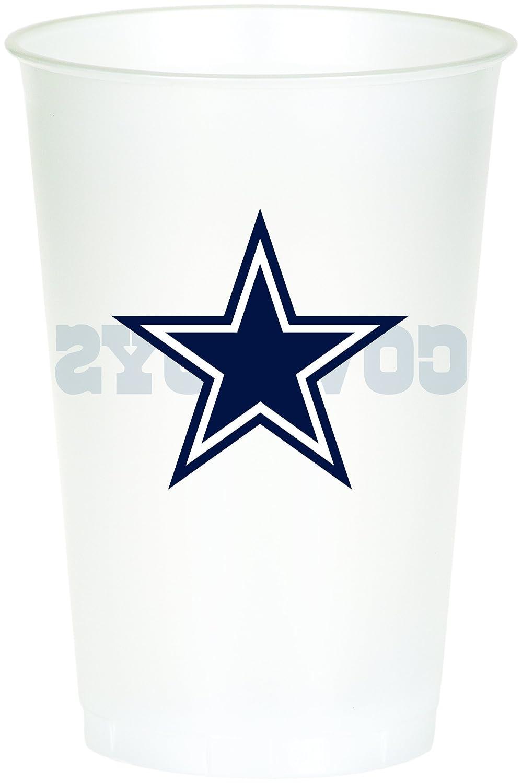 Creative Conversion Imprimé sur tout le Short Dallas Cowboys Plastique Banquet Housse de table Creative Converting 729509