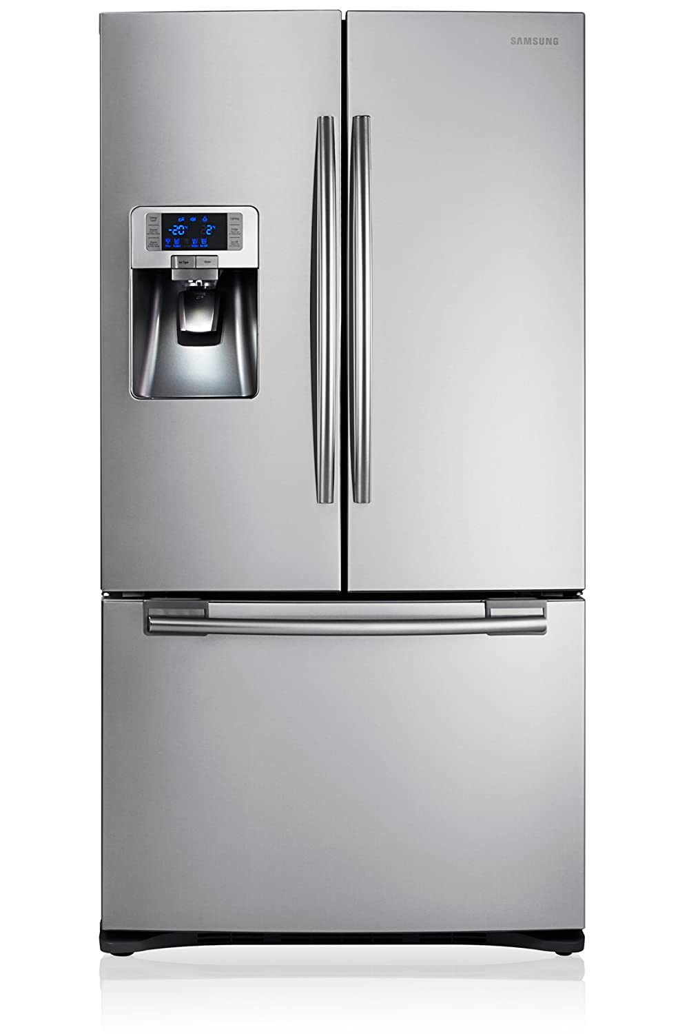 Samsung RFG23UERS - Frigorífico side-by-side (Independiente, Plata, Puerta francesa, 520 L, 630 L, SN, T) RFG23UERS1/XEF