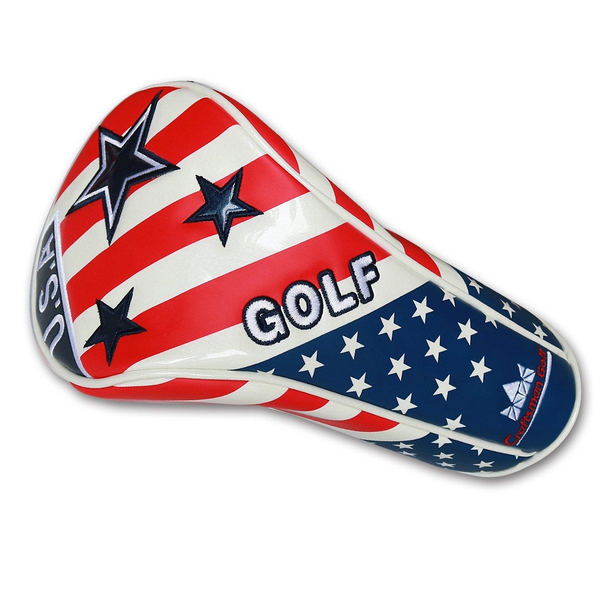 Artesano Golf EE. UU. Bandera Estrella Blanco Azul Rojo ...
