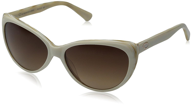 e0a90339c3 O by Oscar de la Renta Eyewear Women s SSC5118 Cateye Sunglasses