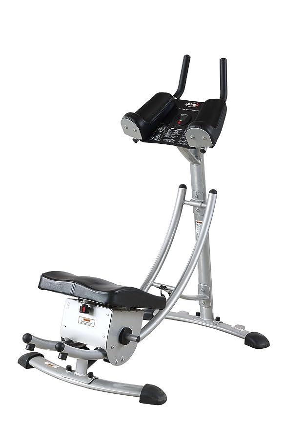 Fitness House FH Coaster - Aparato para Abdominales, Color Gris, Talla única: Amazon.es: Deportes y aire libre