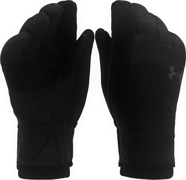 Under Armour Mens UA Elements Fleece CoolGear Infrared Gloves Black XL