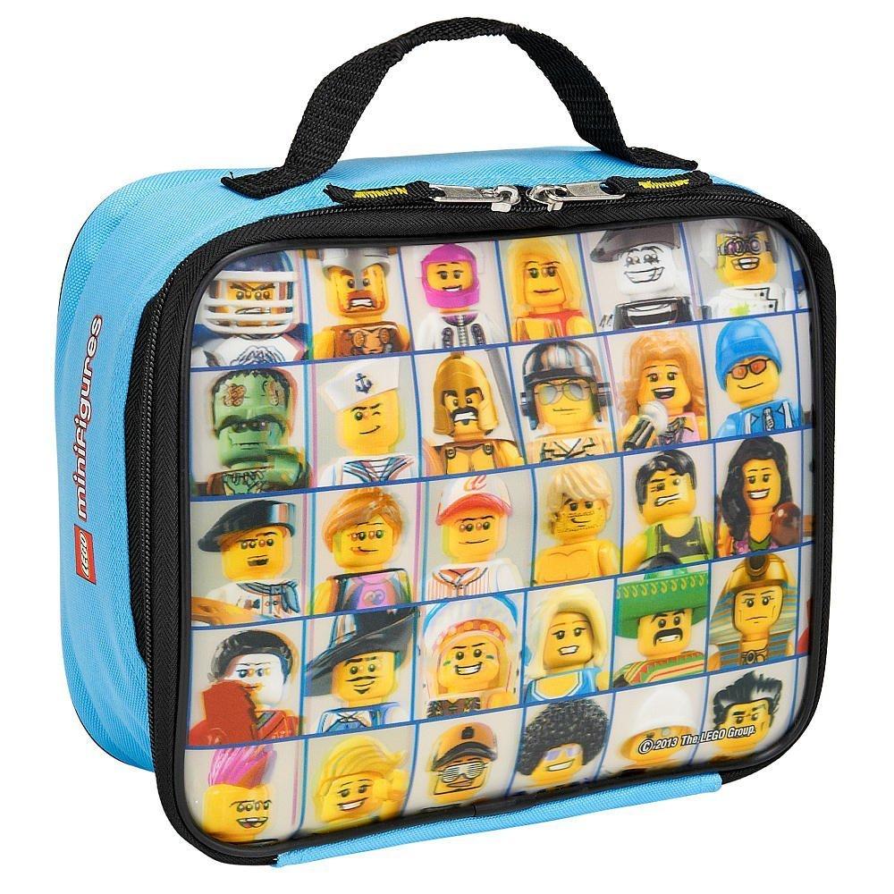 LEGO ''Mini Figure'' Lenticular Rectangular Soft Lunch Box