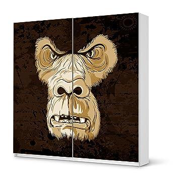 Los muebles-diseño de tatuaje de para IKEA PAX armario de 201 cm ...
