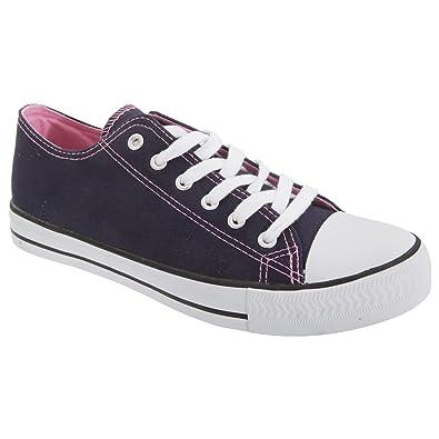 promo code 80b9f ca119 Dek Damen Turnschuhe/Sneakers/Stoff-Turnschuhe: Amazon.de ...