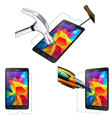 Acm Tempered Glass Screenguard Compatible with Samsung Tab 4 7 Sm T231 Screen Guard Scratch Protector Screen Protectors