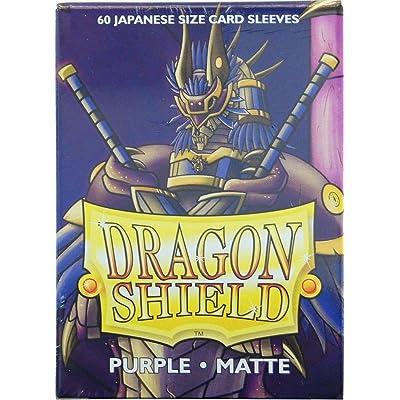 Dragon Shield Sleeves Matte Japanese Purple (60): Toys & Games