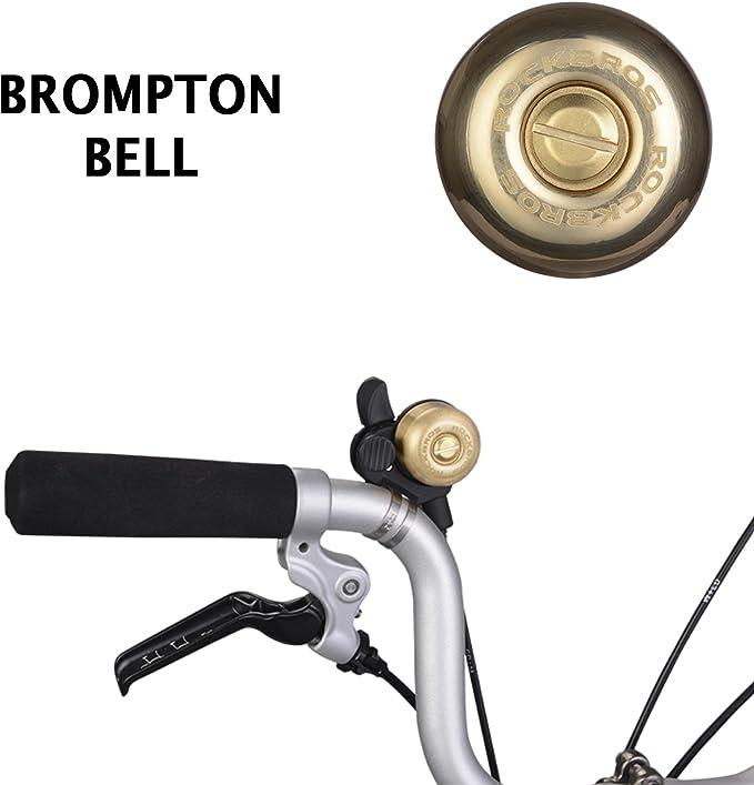 ROCKBROS Brompton Bell en Acier Cuivre personnalisés Accessoires ...