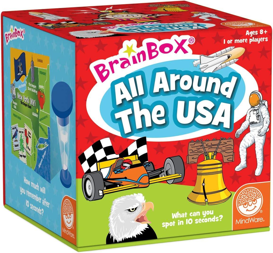 BrainBox: All Around the USA