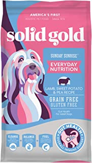 product image for Solid Gold - Sunday Sunrise Lamb, Sweet Potato & Pea Recipe - Grain Free & Gluten Free - Dry Dog Food