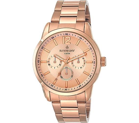 Radiant Reloj Analógico para Mujer de Cuarzo con Correa en Acero Inoxidable RA370203: Amazon.es: Relojes
