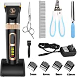 Ceenwes Dog Clippers Heavy Duty Low Noise...