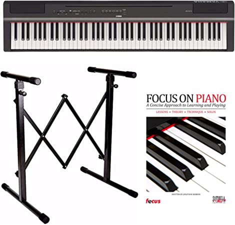 Yamaha P125B 88-Key GHS - Piano digital con soporte para ...