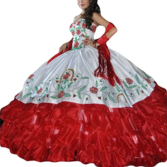 Luxury Embroidery Ball Gown Quinceanera Dresses Vestidos Plus Size