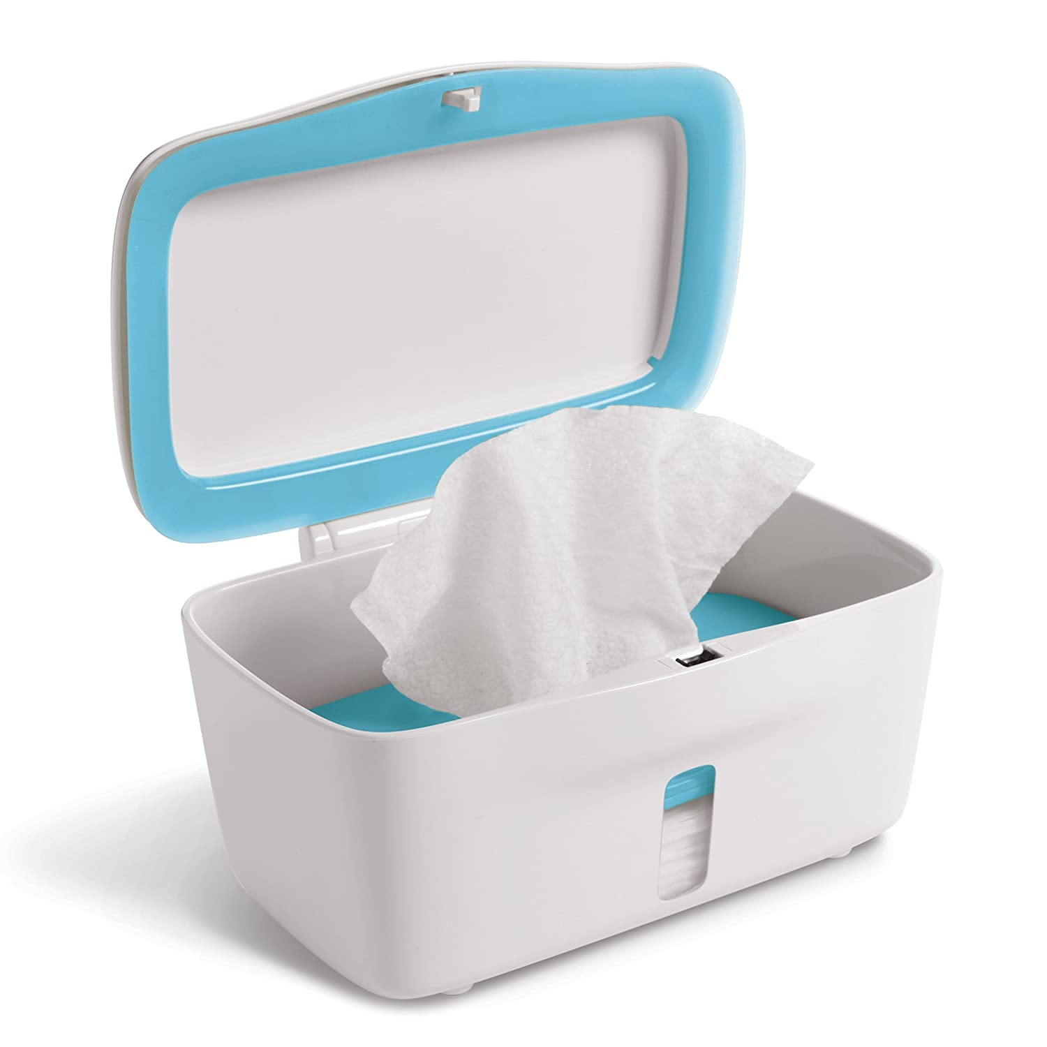 Blue Oxo Tot Perfect Pull Wipes Dispenser