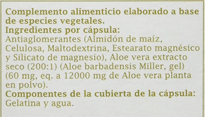 PRONUTRI Two Pack Aloe Vera 30 cápsulas: Amazon.es: Salud y cuidado personal