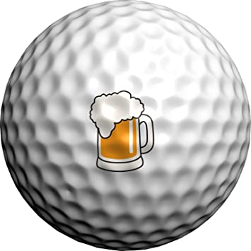 Golfdotz Marcador bolas golf. Jarra de cerveza. 24 marcabolas