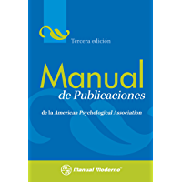 Manual de publicaciones de la Amrican Psychological Association