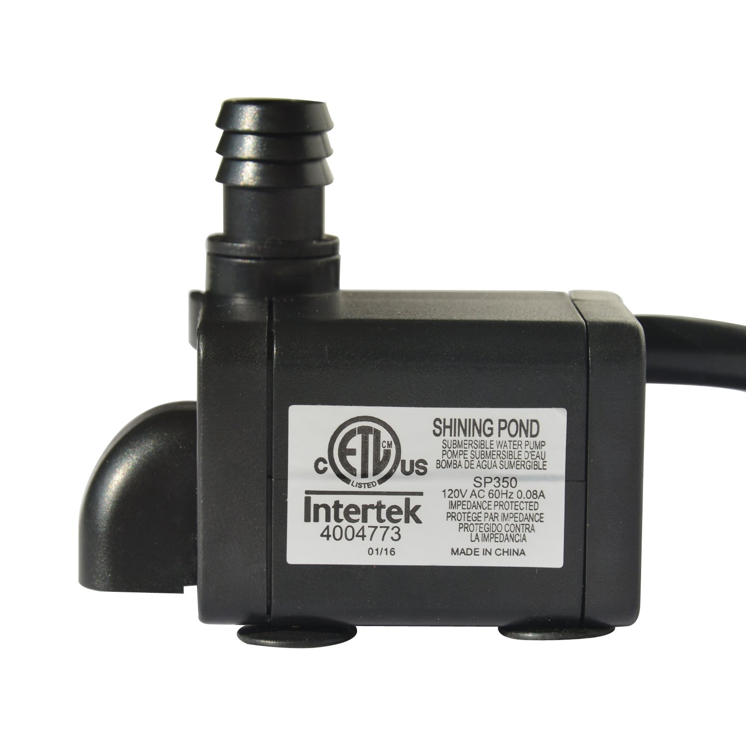 Amazoncom  Shining Pond  GPH Submersible Water Pump With - Amazon pond pumps