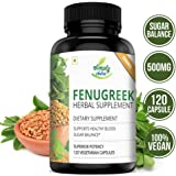 Simply Nutra Fenugreek Seed Extract 1000mg - 120 Veg Capsules