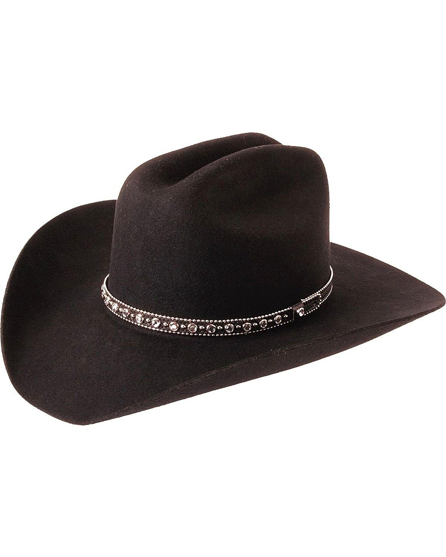 Amazon.com  Silverado Hats SHOOTING STAR Wool Felt Cattleman Western Cowboy  Hat  Clothing 9e811c6acec