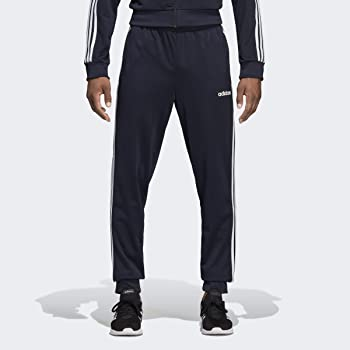 Adidas Men's Essentials 3-Stripes Tapered Jogger Tricot Pant