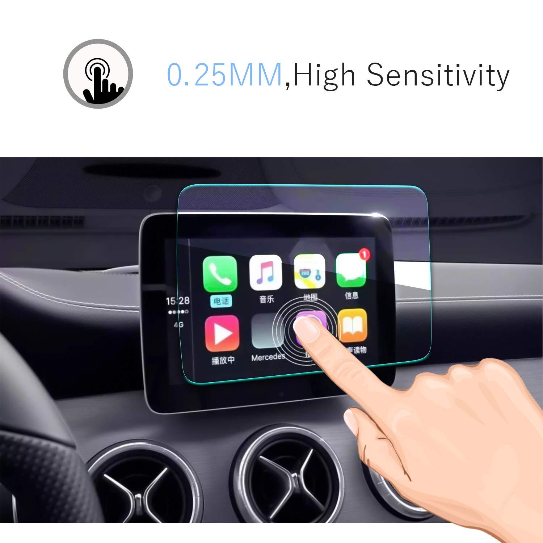 2014-2019 Mercedes benz GLA-CLASS -HD Trasparente W 117 -GPS Pellicola Protettiva Navigazione Protezione Schermo 7 pollice 9H Durezza Scratch Resistente X 156
