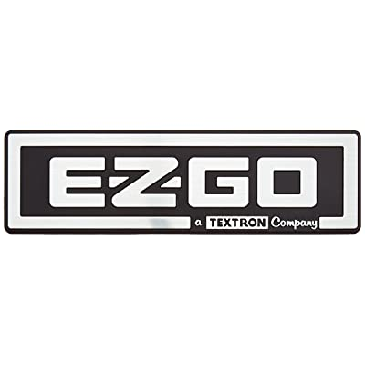 EZGO 71037G01 EZGO/A Textron Company (Bright Silver Finish): Garden & Outdoor