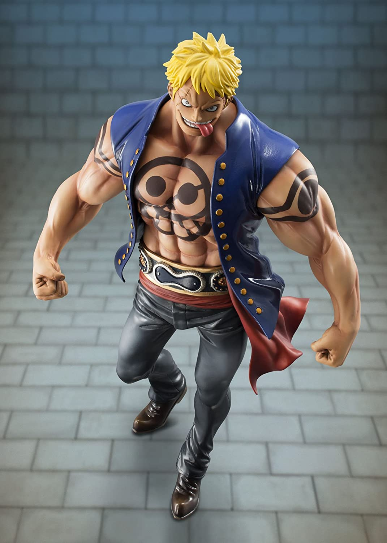 B00JM06ONQ Megahouse One Piece Portrait of Pirates: Bellamy The Hyena Excellent Model PVC Figure 71gil9AvqaL.SL1500_