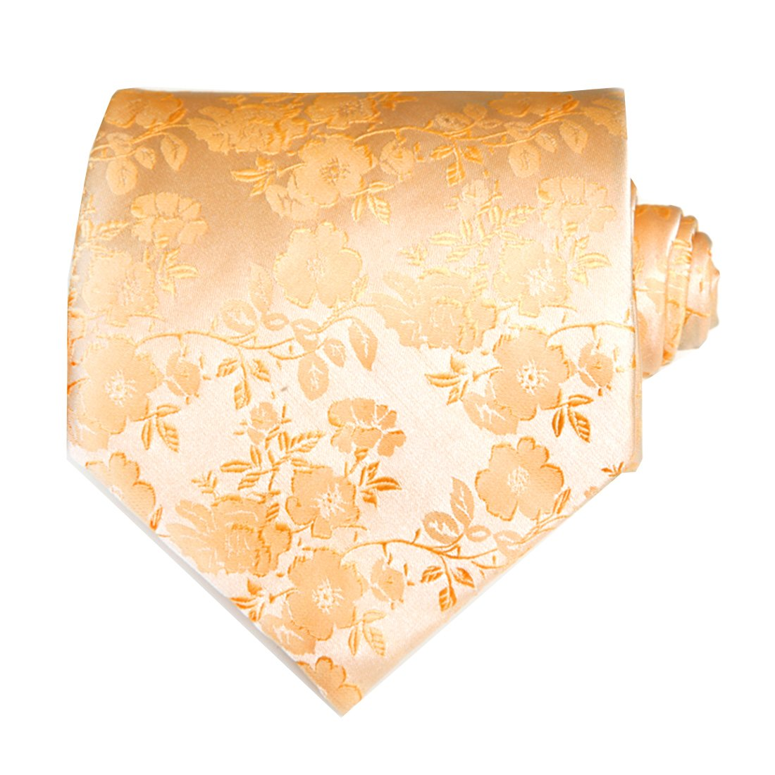 9284d791f7fe TNS Gold Floral Paisley Ties Set - Cufflinks & Hanky: Amazon.co.uk: Clothing