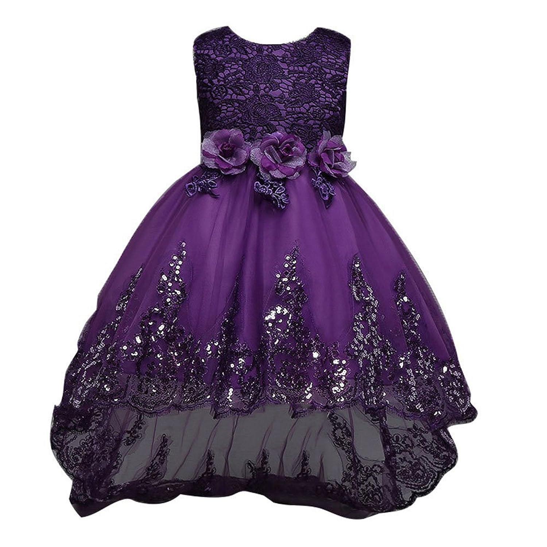 Robe de demoiselle d'honneur de fille d'enfant de robe de demoiselle d'honneur de fille d'enfant - Cliquez sur l'image pour la fermer