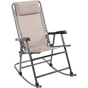 Timber Ridge Smooth Folding Rocking Chair