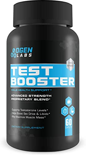 Lean Nutraceuticals Md Certified Testosterone Booster for Men Supplement Natural Actives Metabolism Booster Muscle Builder Tongkat Ali, Tribulus Territis, Horny Goat, Dhea, DAA, Fenugreek 180 Caps