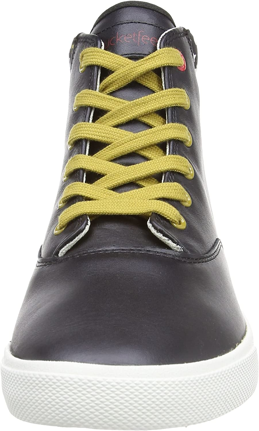 Bucketfeet Mens Suiko B Mid Lace-Up Black//White//Brown