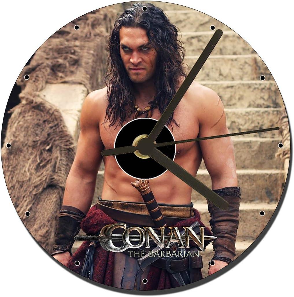 MasTazas Conan EL Barbaro Conan The Barbarian Jason Momoa B - Reloj de Mesa con CD (12 cm): Amazon.es: Juguetes y juegos