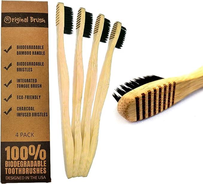 Cepillo original – Pinceles de dientes biodegradables con un ...
