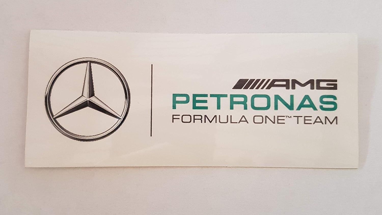 2x AMG MERCEDES PETRONAS FORMULA ONE TEAM sticker decal vinyl
