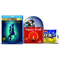 The Shape of Water + Edward Scissorhands - 2 English Movies (2 Blu-ray bundle offer)