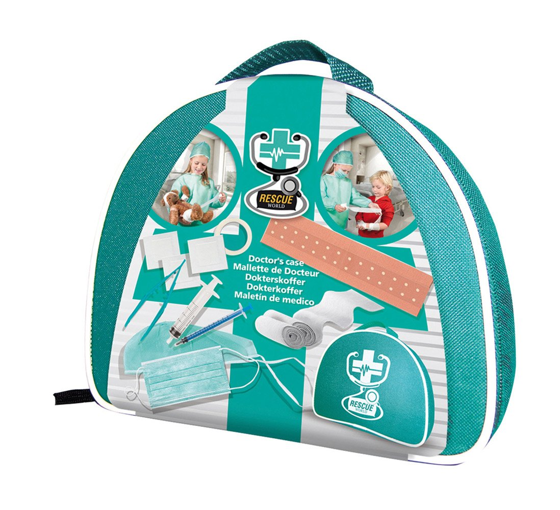 ES SES 09201 Rescue World Doctor's Case Toy SES09201