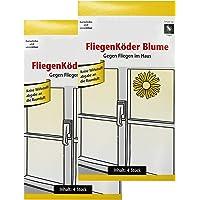 com-four® Fliegenköder oder Fliegenstreifen für Ihre Fenster