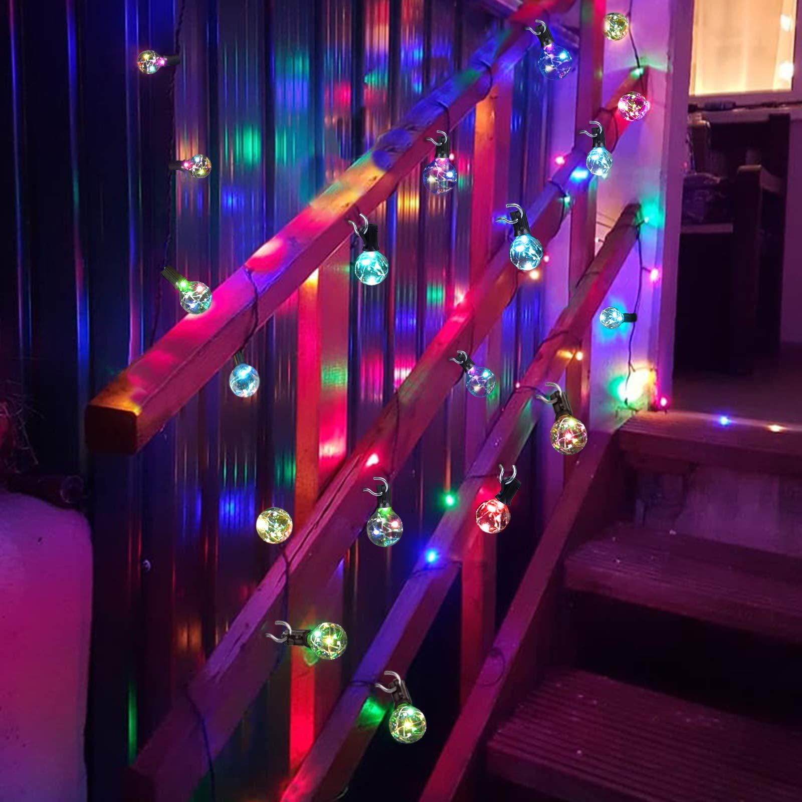 Weihnachtsbeleuchtung Aussen Ersatzbirnen.50 Discount On Led Lichterkette Bunt Innen Außen Strombetrieben
